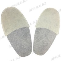 Тапочки одноразовые тонкие (25 пар)