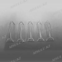 Типсы для наращивания острой формы прозрачные (500 шт.)