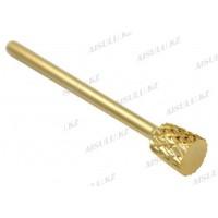 Фреза с алмазным напылением Small Barrel №5 E (золото)
