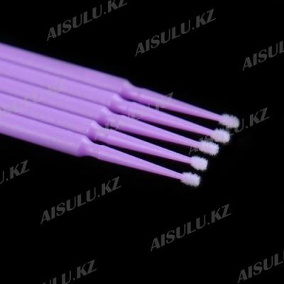 Щеточка одноразовая с микроволокнами (100 шт.) В-17 AISULU Small 1 мм