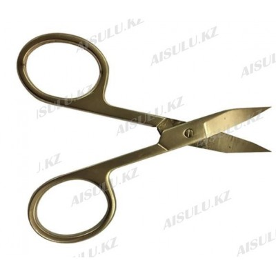 Ножницы маникюрные AS-047 (золото) AISULU
