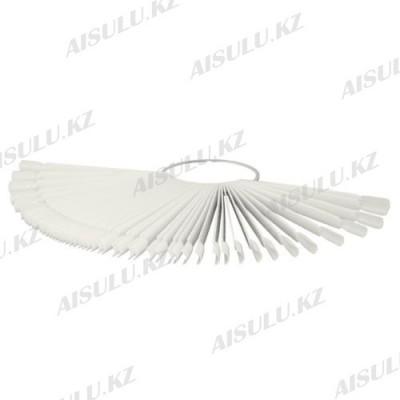Палетка для пробных цветов лака веер на 50 оттенков (на кольце) (в ассорт.)
