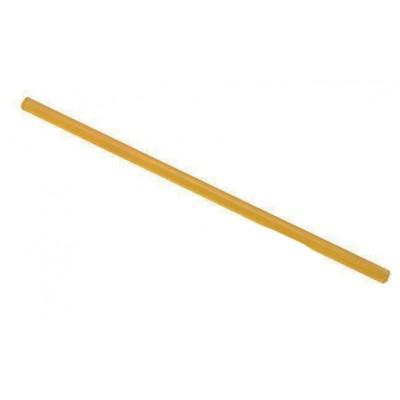 Палочка кератиновая (смола) для горячего наращивания волос Ø11 х 180 мм (желтая)
