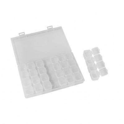 Посуда для мелочей с съемными контейнерами (28 ячеек)