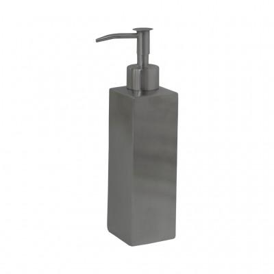 Дозатор для жидкого крема или мыло SH-06 ПРЯМОУГОЛЬНЫЙ металлич. 300 мл
