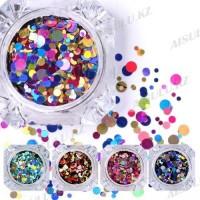 Камуфубики для дизайна ногтей (разноцветные)