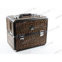 Кейс DY 2652 K (ср) для визажиста (леопард), AISULU