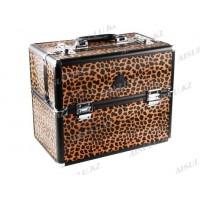 Кейс DY 2651 K (б) для визажиста (леопард) AISULU