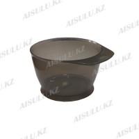 Чаша для краски #4-46 пласт. с резинкой 320 мл (черная)