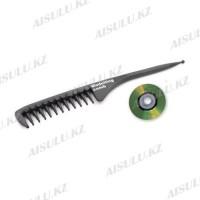 Расческа професс. 7002 Modelling comb, черная