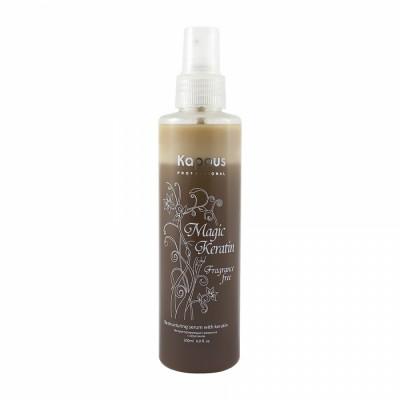 Сыворотка для волос реструктурирующая с кератином Magic Keratin KAPOUS 200 мл