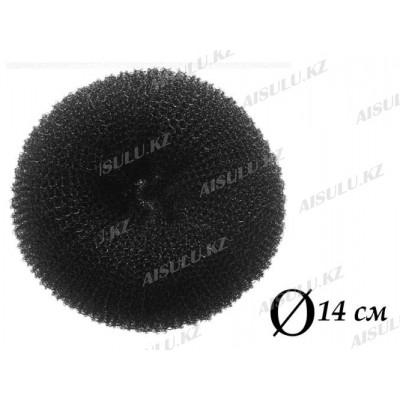 Валик для объема волос Q-65 черный Ø 14 см AISULU (б)