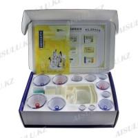 Банки для вакуумного массажа (хиджама) 12 в 1 (+ масло и камень)