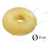 Валик для объема волос Q-65 бежевый Ø 8 см AISULU (м)