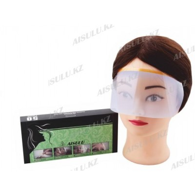 Маска для лица защитная одноразовая MZ-25 пластик. (50 шт.)