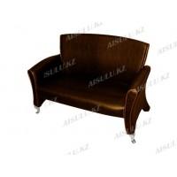 H-7018 C Скамейка для клиентов (коричневая,