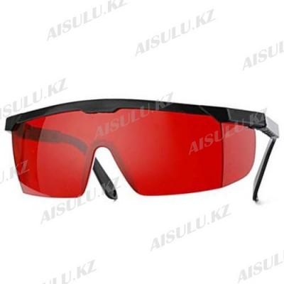 Очки для фотоэпиляции для клиента красные