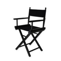 Кресло для визажиста маленькое A 8601 (черное)