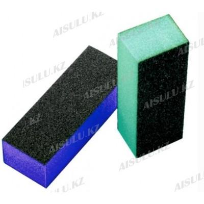 Бафик для шлифовки натуральных ногтей (цветной c блестками) (упак. 2 шт.)