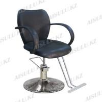 JH-8153 Кресло парикмахерское (черное, гладкое)