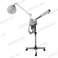 Вапоризатор + лампа-лупа MS-707+205, напольный (стеклянная колба)