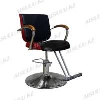 JH-8160 Кресло парикмахерское (черно-красное,