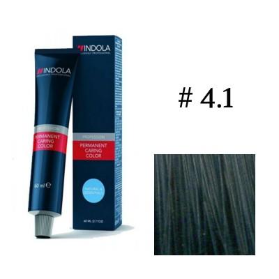 Крем-краска Indola PCC 4,1 Средн. корич. пепельный 60 мл