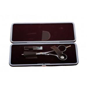 Футляр для ножниц №321 одинарный цветной AISULU