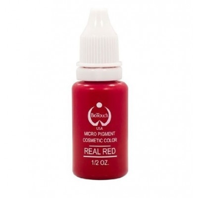 Пигмент для перманентного макияжа Biotouch Real Red MP-18 (USA) 8 мл