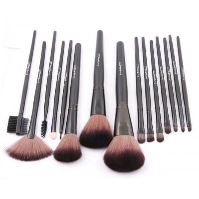 Набор кистей для макияжа MAC-15 - 15 шт. (колонок)