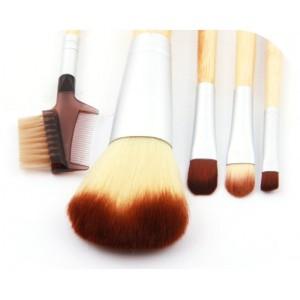 Набор кистей для макияжа Ecotools - 6 шт. бамбуковая ручка