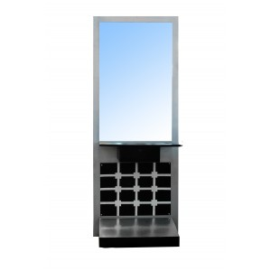 JH-9101 Зеркало напольное одностороннее (серебристое)